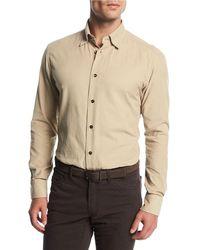 Brioni - Corduroy Sport Shirt - Lyst