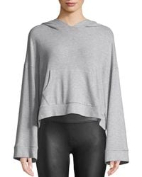 Cupcakes And Cashmere - Canby Cropped Long-sleeve Hoodie - Lyst
