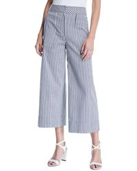 Trina Turk - Sacramento Wide-leg Striped Pants - Lyst