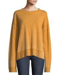 Elizabeth and James - Oliver Crewneck Dropped-shoulder Cashmere Pullover Sweater - Lyst