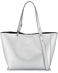 Rebecca Minkoff - Stella Large Metallic Tote Bag - Lyst