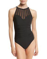 9c52d79031 Magicsuit - Anastasia High-neck One-piece Swimsuit - Lyst