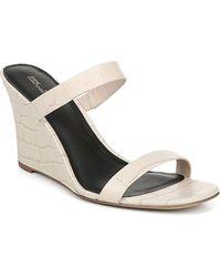 Diane von Furstenberg Vivienne Slide Wedge Sandals - Multicolour
