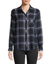 Rails - Hunter Plaid Button-front Shirt - Lyst