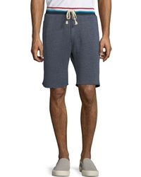 Sol Angeles - Roma Flag Striped Terry Shorts - Lyst