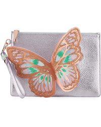 Sophia Webster | Flossy Butterfly Pochette Clutch Bag | Lyst