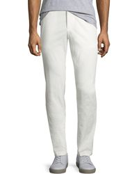 Theory - Men's Evan Patton Twill Pants - Lyst