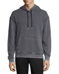 ATM - Sun-bleached French Terry Hoodie - Lyst