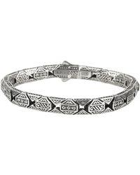 Konstantino - Men's Aeolus Athena Sterling Silver Bracelet - Lyst