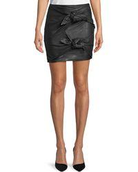 Étoile Isabel Marant - Gritanny Washed Leather Skirt - Lyst