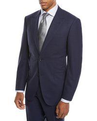 Canali - Men's Impeccabile Tonal Plaid Wool Two-piece Suit - Lyst