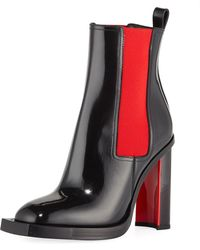Alexander McQueen - Hybrid Ankle Boots - Lyst