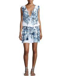 Tryb - Ebony Sleeveless Blouson Dress - Lyst