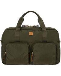 Bric's X-travel Nylon Boarding Duffle Bag - Green