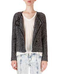 Isabel Marant - Helba Asymmetric Boucle Jacket - Lyst