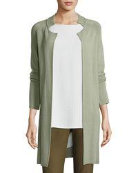 Eileen Fisher - Sleek Knit Jacket - Lyst
