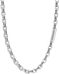 John Hardy - Men's Classic Chain Link Sterling Silver Necklace - Lyst