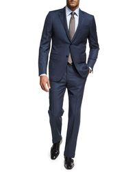 Ermenegildo Zegna - Birdseye Wool Two-piece Suit - Lyst