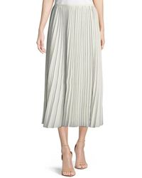Lafayette 148 New York - Florianna Euphoric Pleated Skirt - Lyst