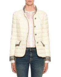 Ermanno Scervino - Embellished Quilted Button-front Jacket - Lyst