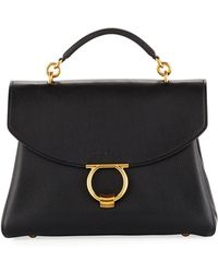 Ferragamo - Margot Medium Top Handle Bag - Lyst