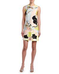 Emilio Pucci - Sleeveless Mirabilis Floral-print Dress - Lyst