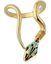 Gas Bijoux - Naja Snake Ring - Lyst
