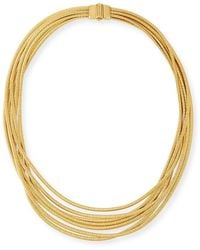 Marco Bicego - Cairo 18k Seven-strand Necklace - Lyst