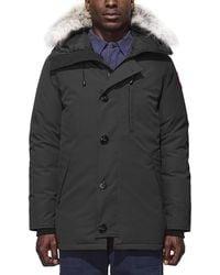 Canada Goose - Chateau Parka W/fur Trimmed Hood - Lyst