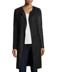 Bagatelle - Long Stretch-strip Leather Topper - Lyst