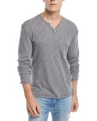 Joe's Jeans - Men's Wintz Long-sleeve Henley T-shirt - Lyst