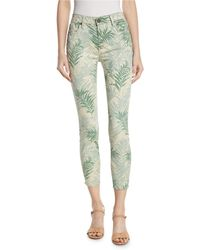 Parker Smith - Ava Palm Springs Cropped Skinny Jeans - Lyst