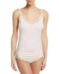 Hanro - Cotton Lace Camisole - Lyst