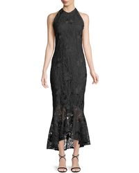 Shoshanna - Carmina Guipure Lace High-low Gown - Lyst