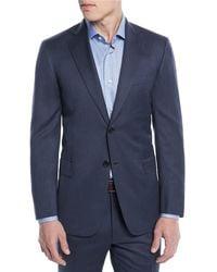 Brioni - Men's Herringbone Two-piece Wool Suit - Lyst