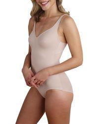 Tc Fine Intimates - Wonderful U Body Briefer Bodysuit - Lyst