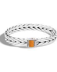 John Hardy - Men's Modern Chain Medium Tiger Eye Bracelet - Lyst