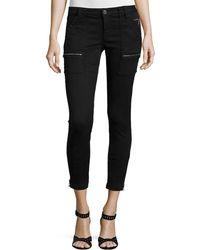 Joie Park Twill Skinny Jeans - Black
