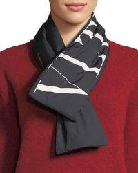Valentino - Vltn Wool-cashmere Scarf - Lyst