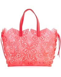 Sophia Webster - Liara Butterfly Jelly Tote Bag - Lyst
