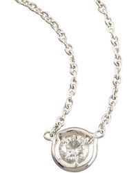 Roberto Coin - Diamond-station Necklace - Lyst