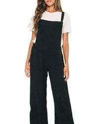 Sol Angeles Overall Jumpsuit - Black
