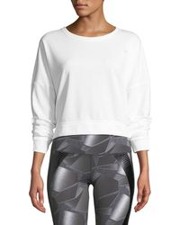 Under Armour - Favorite Terry Cropped Shirt - Lyst