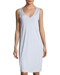Hanro | Pure Essence Tank Gown | Lyst