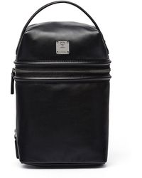 MCM - X Cr Collection Leather Top-handle Jet Pack - Lyst