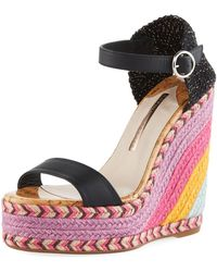 Sophia Webster - Multicoloured Lucita 140 Wedge Sandals - Lyst