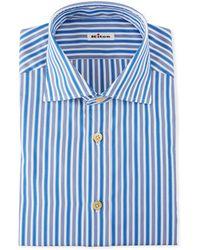 Kiton - Men's Strong Stripe Dress Shirt - Lyst