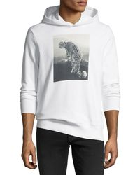 Ovadia And Sons - Snow Leopard Graphic Hoodie - Lyst