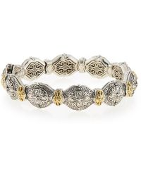 Konstantino - Thalassa Silver & 18k Gold Link Bracelet - Lyst