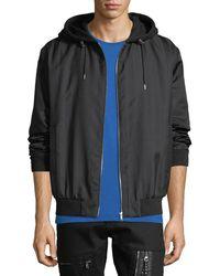 McQ - Men's Hooded Zip-front Anorak Jacket - Lyst